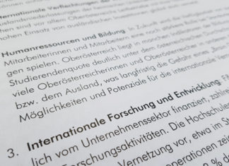 Internationaler Standort Bericht
