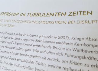 Leadership in turbulenten Zeiten Studie