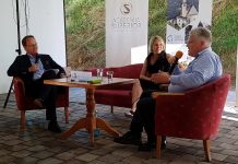 Markus Hengstschläger, Martina Mara and Sepp Hochreiter at the fireside-talk