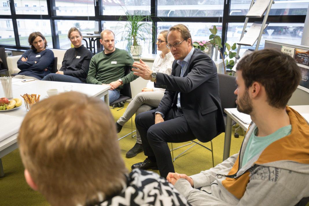 Markus Hengstschläger beim Studierendenworkshop 2018
