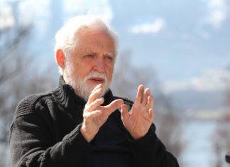 Carl Djerassi beim Symposium 2012