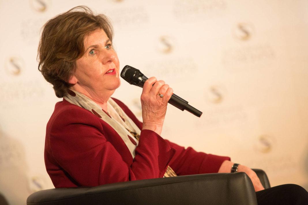 Helga Rabl-Stadler beim DIALOG