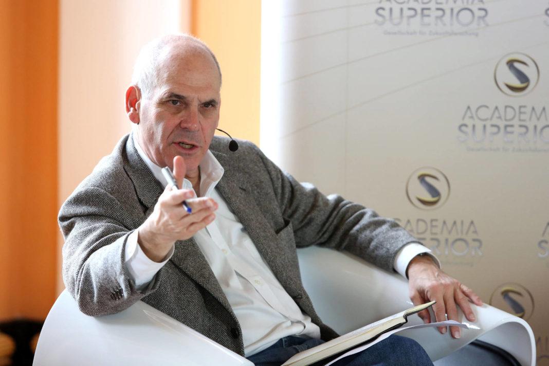 Alan Webber beim Symposium 2014