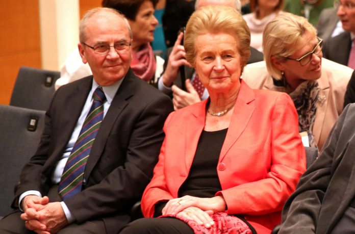 Brigitte Winklehner und Erich Gornik beim Symposium 2016
