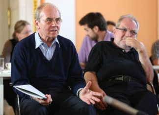 Erich Gornik at the Symposium 2014