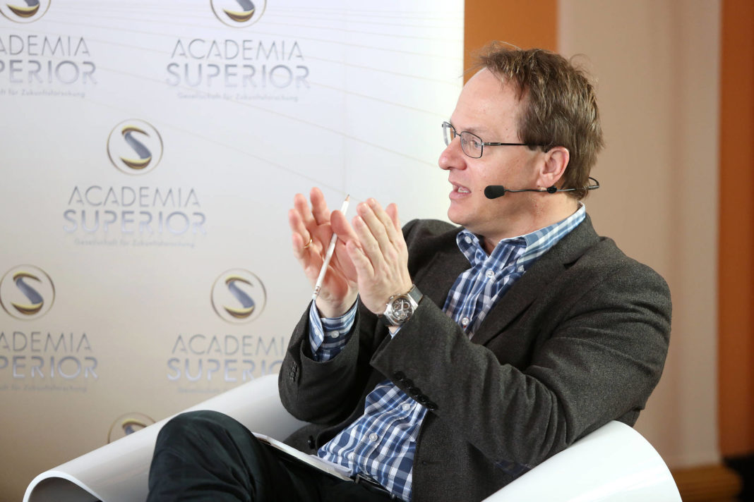 Markus Hengstschläger beim Symposium 2014