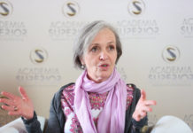 Herta Steinkellner at the Symposium 2015