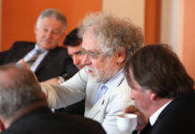 Anton Zeilinger beim Symposium 2011