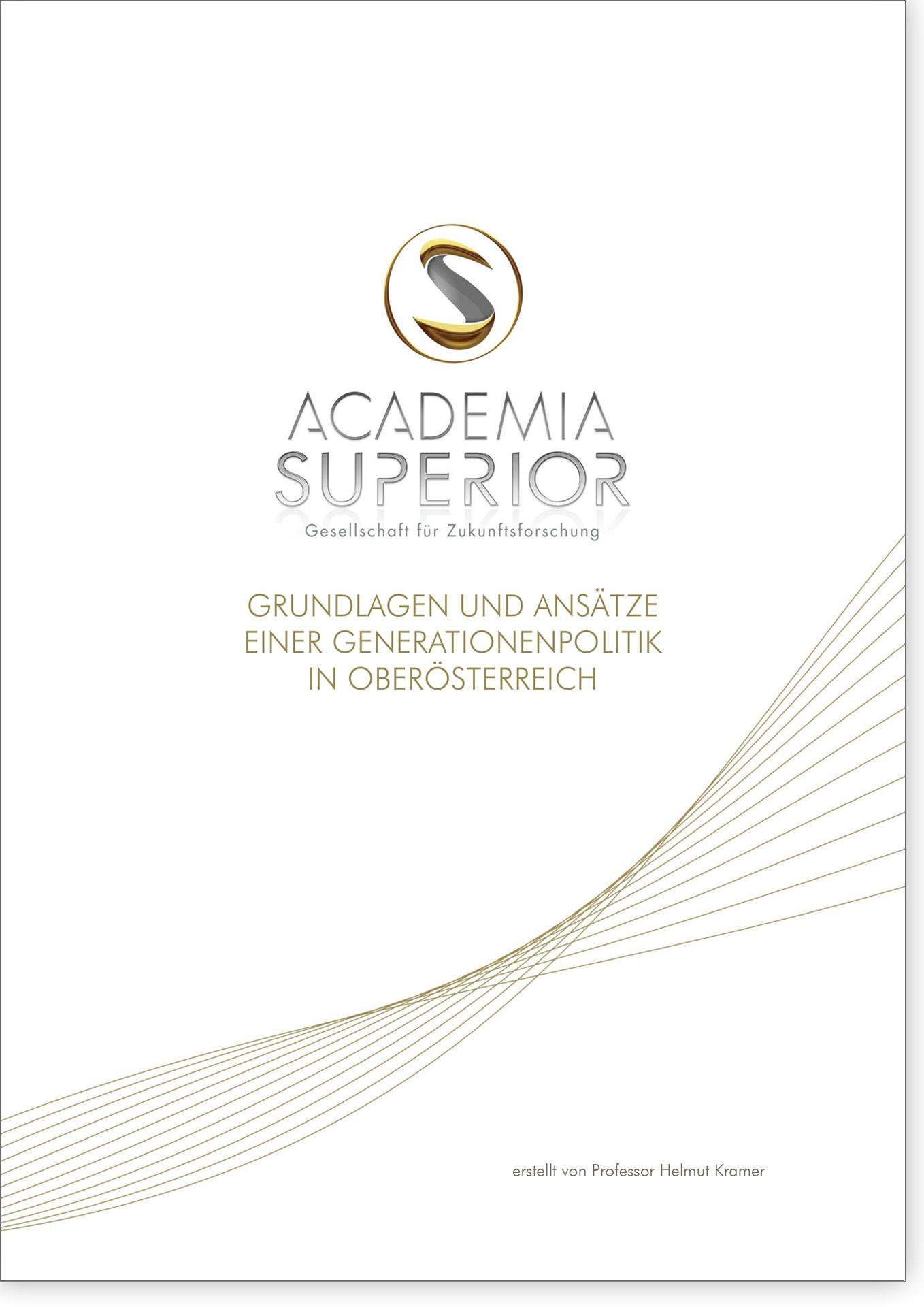 Cover Grundlagen und Ansätze einere Generationenpolitik in Oberösterreich