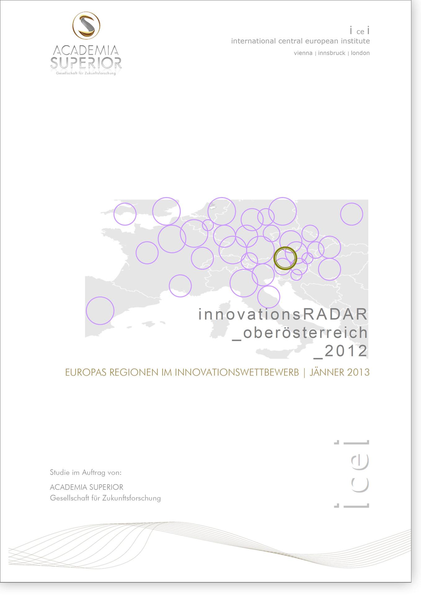 Cover Innovationsradar 2012