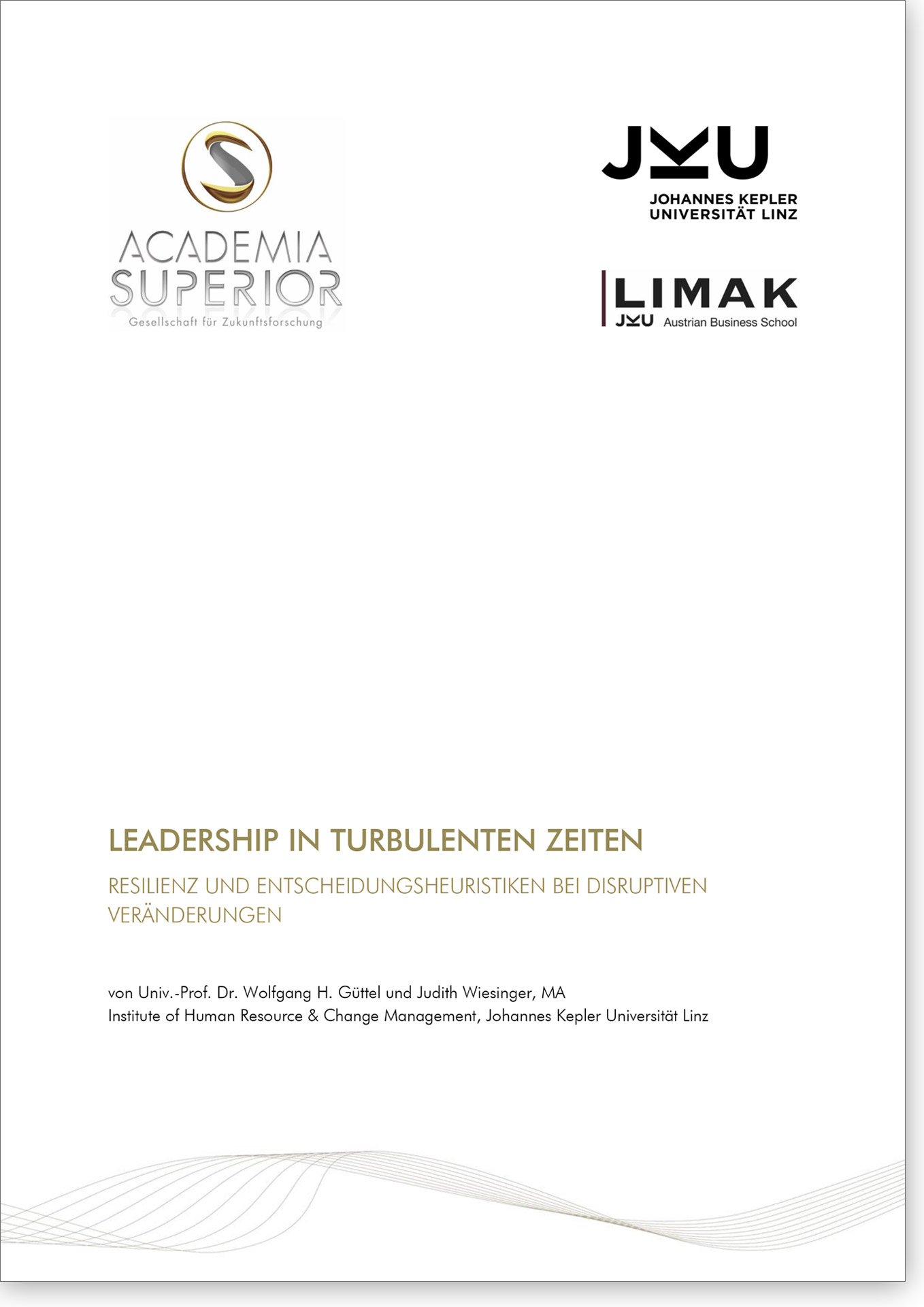Cover Studie Leadership in turbulenten Zeiten
