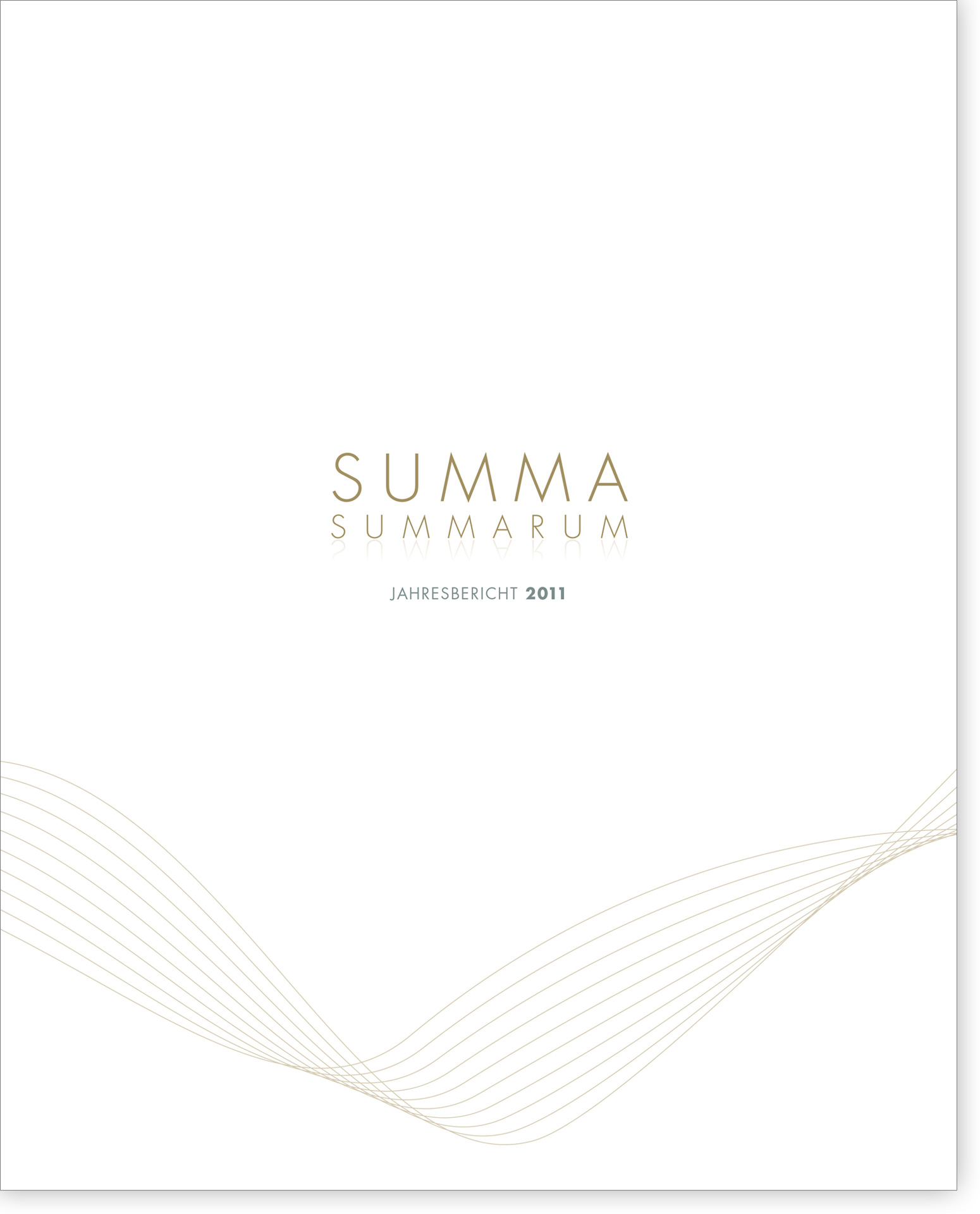 Cover Summa Summarum 2011