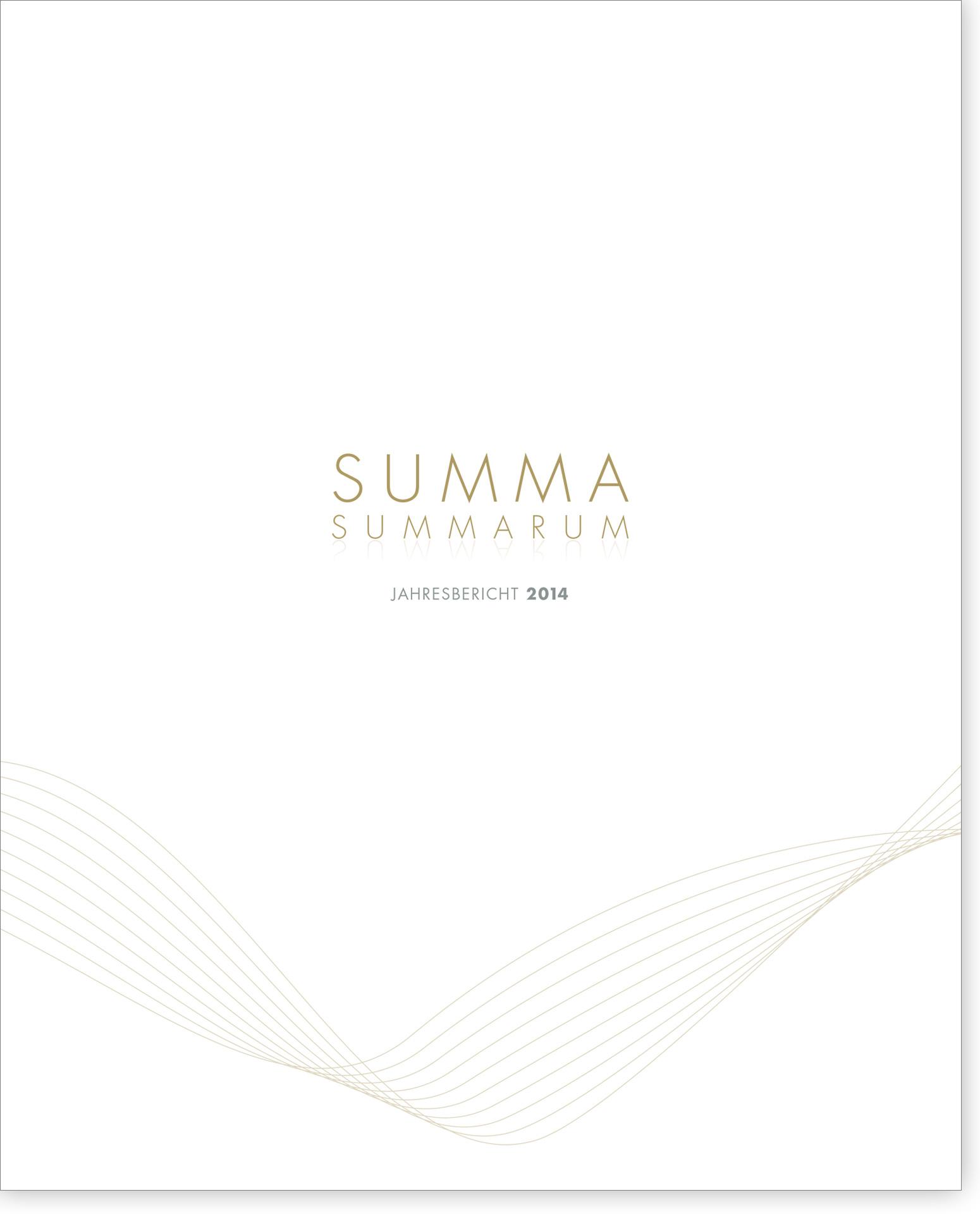 Cover Summa Summarum 2014