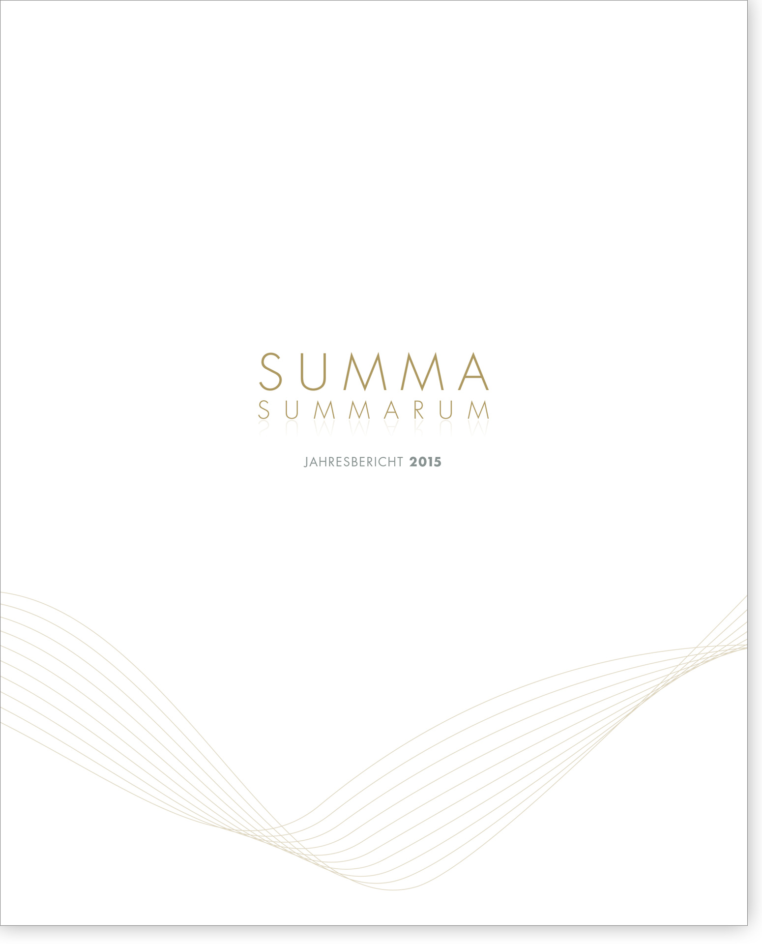 Cover Summa Summarum 2015