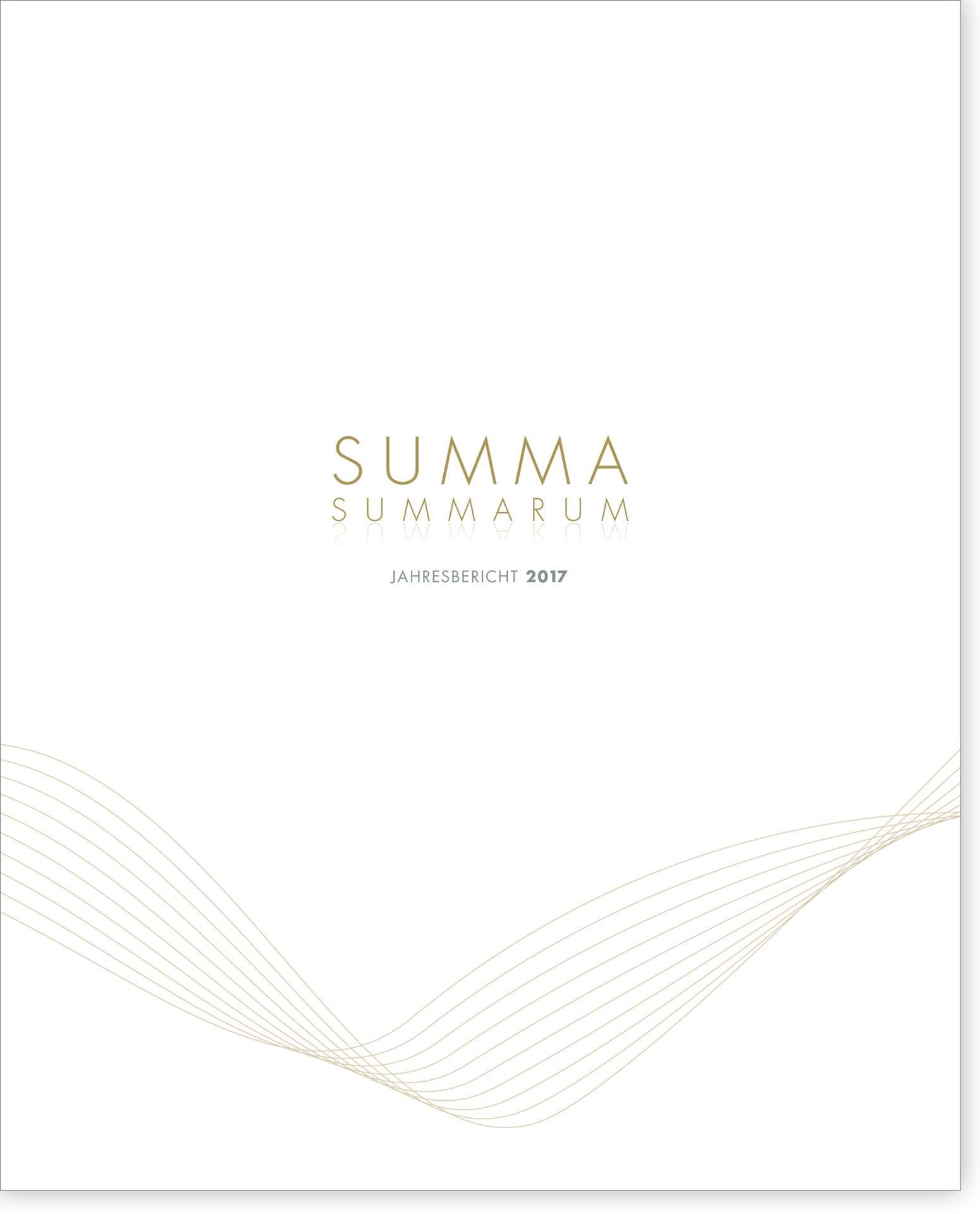 Cover Summa Summarum 2017