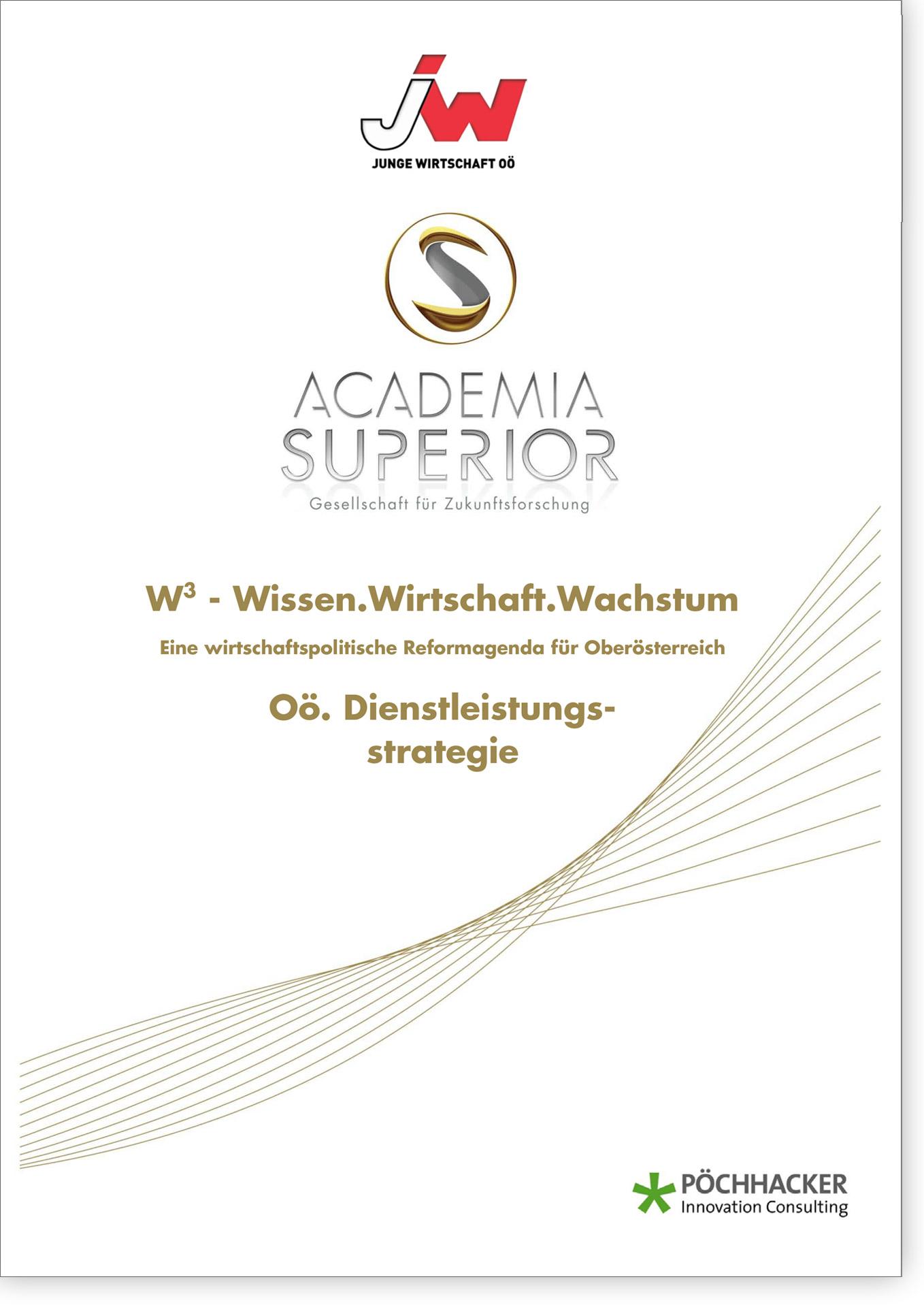 Cover W3 Oö. Dienstleistungsstrategie