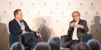 Markus Hengstschläger and Alexander Wrabetz in DIALOGUE