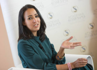 Manal al-Sharif at the Symposium 2018