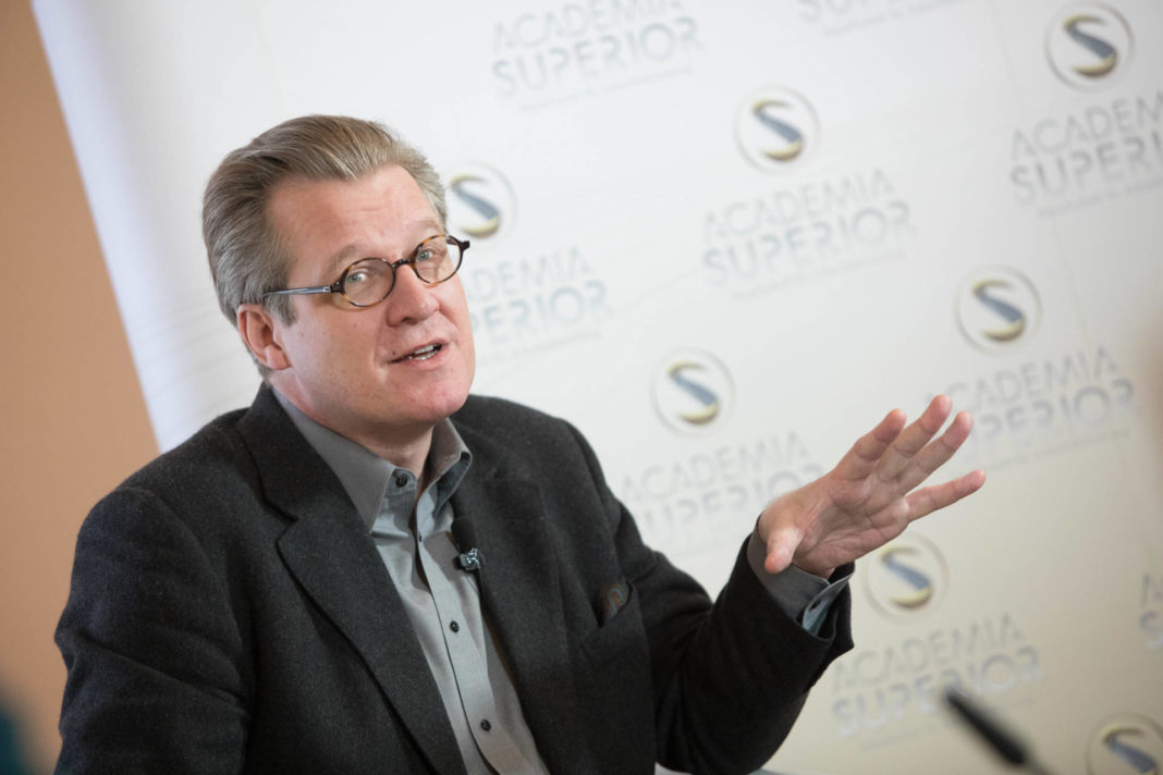 Philipp Blom at the Symposium 2018