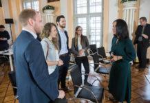 Die YOUNG ACADEMIA beim SYMPOSIUM 2018 im Gespräch mit Manal al-Sharif