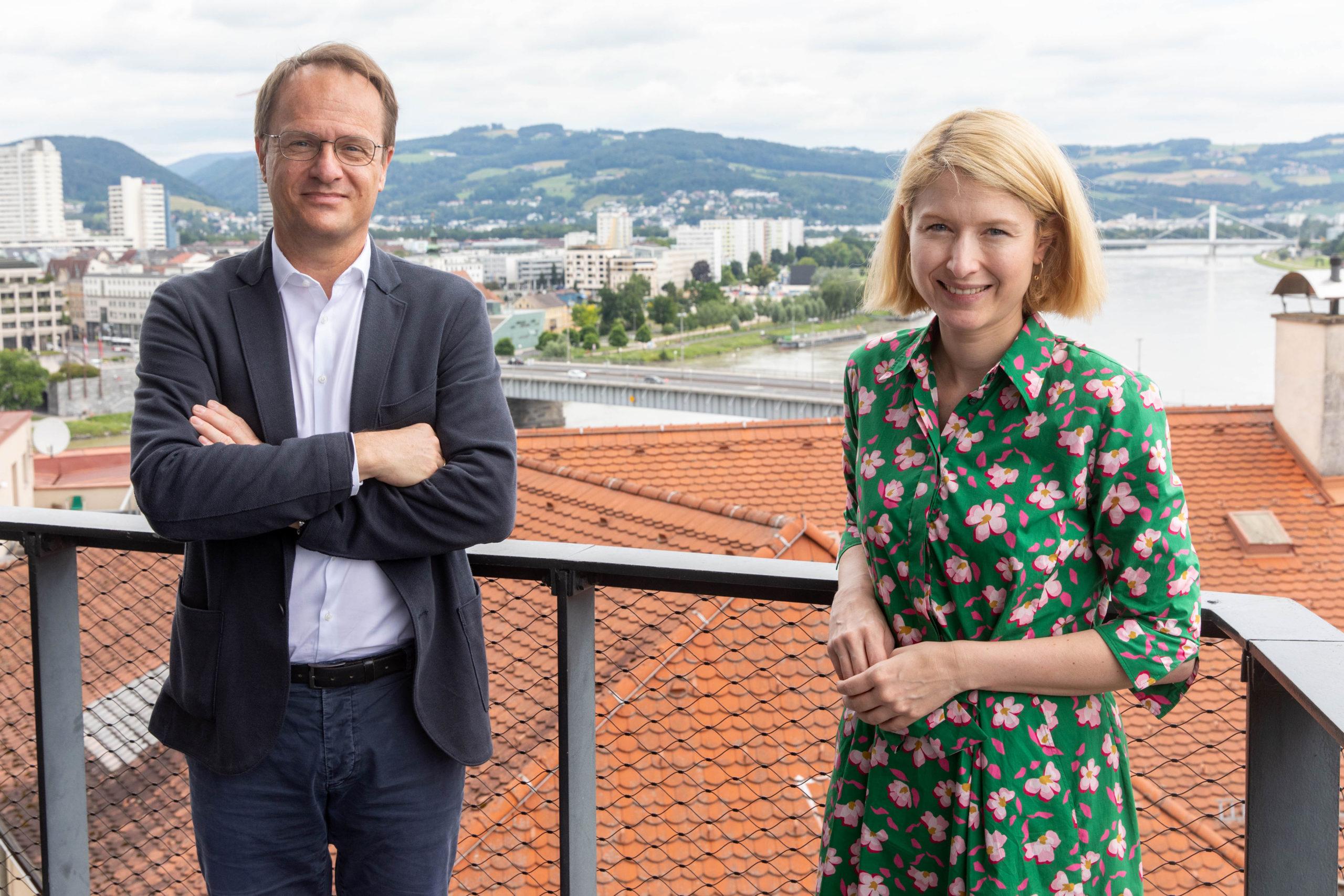 Foto 3: Markus Hengstschläger und Christine Haberlander